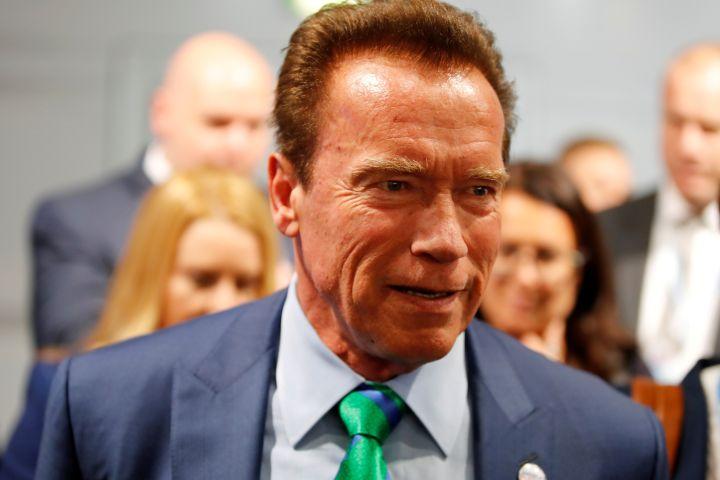 Arnold Schwarzenegger - REUTERS/Wolfgang Rattay/File Photo