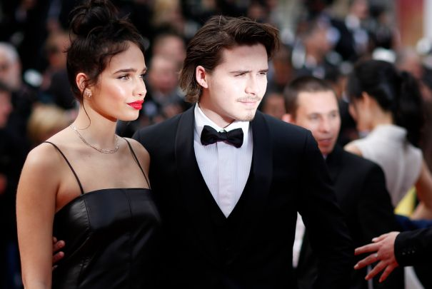 Brooklyn Beckham, Hana Cross Join Together At Cannes