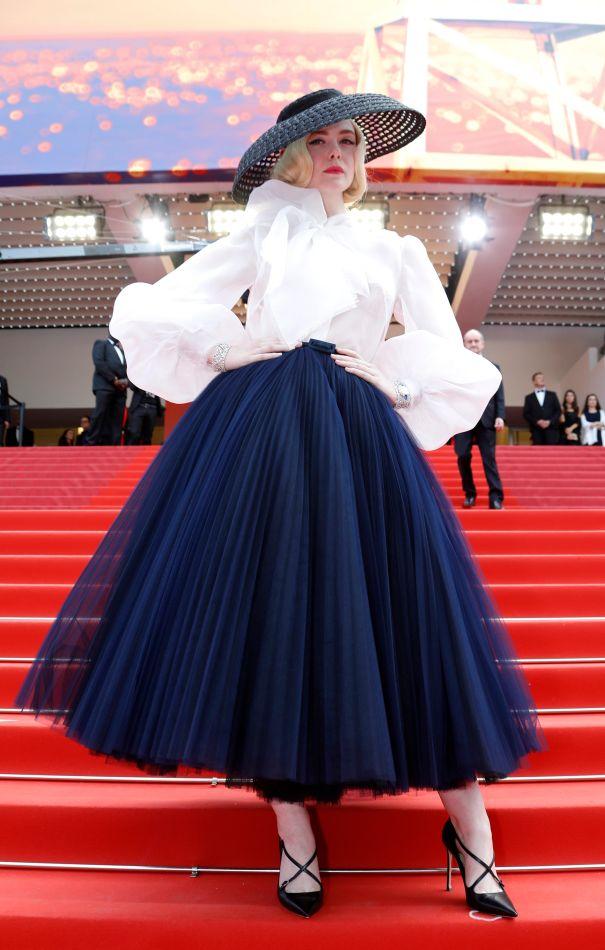 Elle Fanning Bold In France