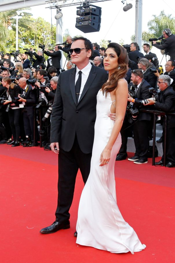 Quentin Tarantino Celebrates New Project
