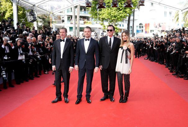 'Once Upon A Time In Hollywood' Cast Steps Out For Cannes