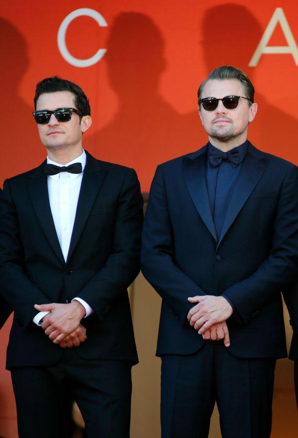 Leonardo DiCaprio Joins Orlando Bloom On Cannes Red Carpet