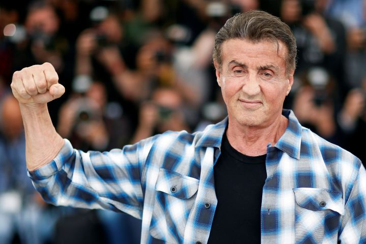 Sylvester Stallone. Photo: REUTERS/Stephane Mahe