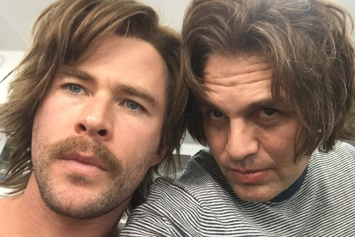 Chris Hemsworth and Mark Ruffalo. Photo: Twitter/Mark Ruffalo
