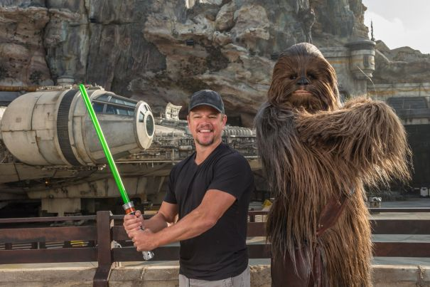 Matt Damon Explores Star Wars: Galaxy's Edge