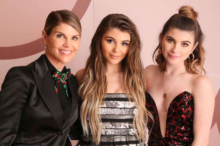 Lori Loughlin, Olivia Jade Giannulli and Isabella Rose Giannulli - Getty Images