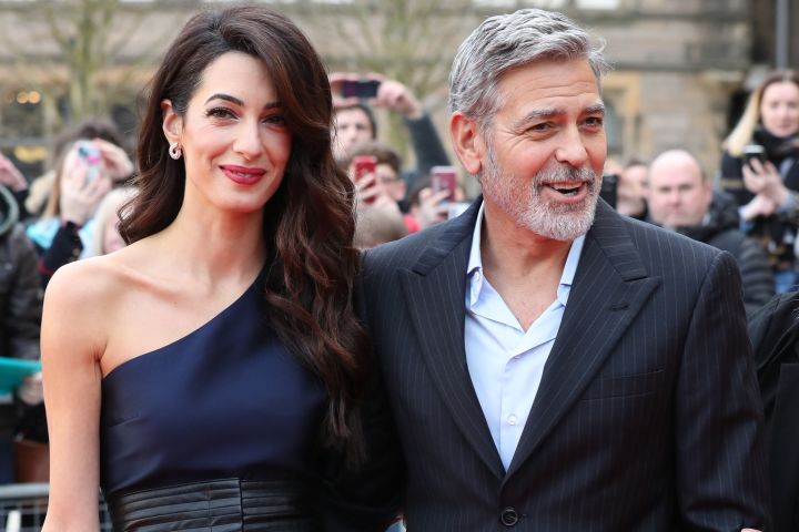 Amal Clooney and George Clooney - Getty Images