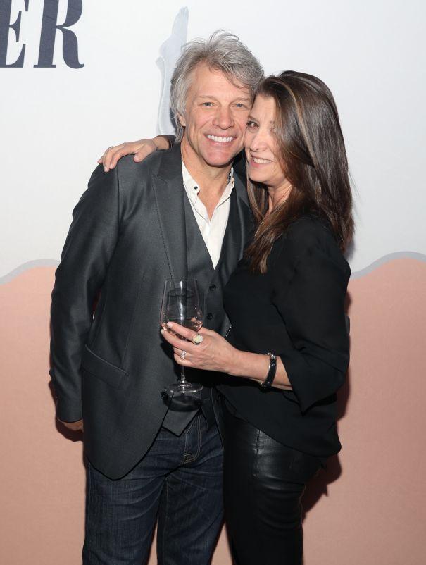 Jon Bon Jovi + Dorothea Hurley