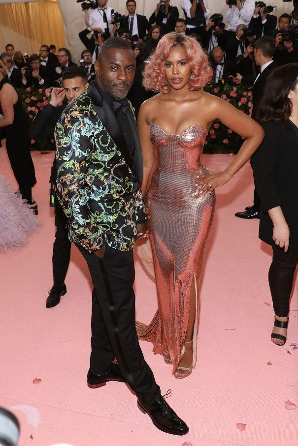Idris Elba + Sabrina Elba