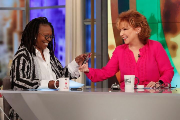 Whoopi Goldberg and Joy Behar. Photo: Lou Rocco/Walt Disney Television via Getty Images