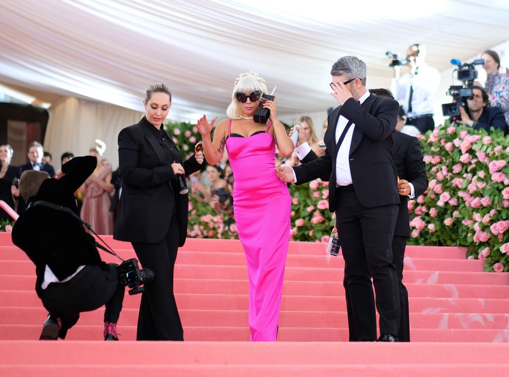 Look Three: Photo by Dimitrios Kambouris/Getty Images for The Met Museum/Vogue