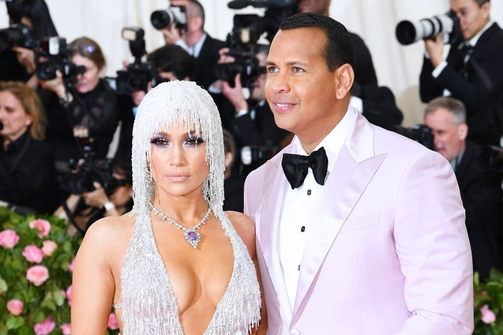JLo and ARod are a picture perfect couple on the Met Gala steps.