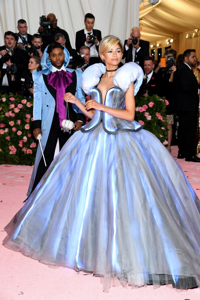 NEW YORK, NEW YORK – MAY 06: Zendaya attends The 2019 Met Gala Celebrating Camp: Notes on Fashion at Metropolitan Museum of Art on May 06, 2019 in New York City. (Photo by Dimitrios Kambouris/Getty Images for The Met Museum/Vogue)