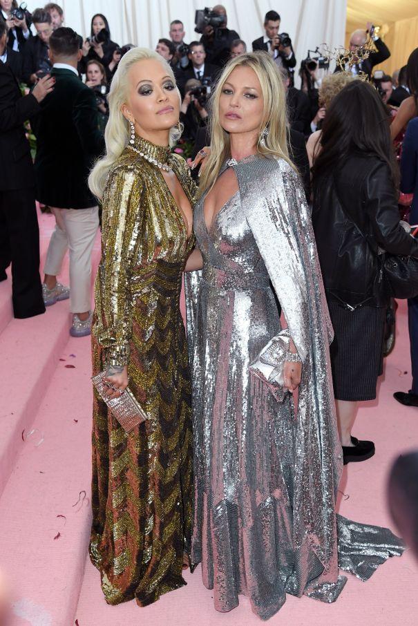 Rita Ora + Kate Moss