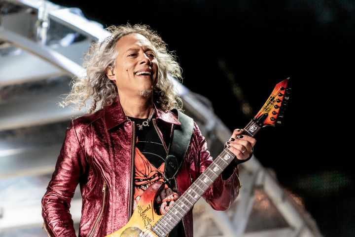 Kirk Hammett. Photo by Sergione Infuso/Corbis via Getty Images