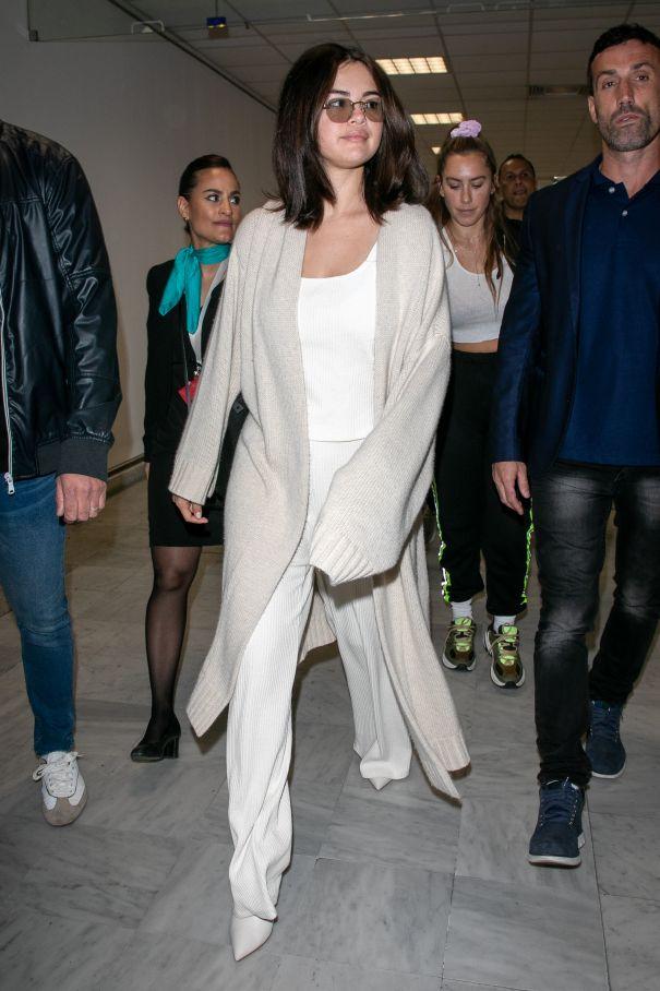 Selena Gomez Trendy In Cannes
