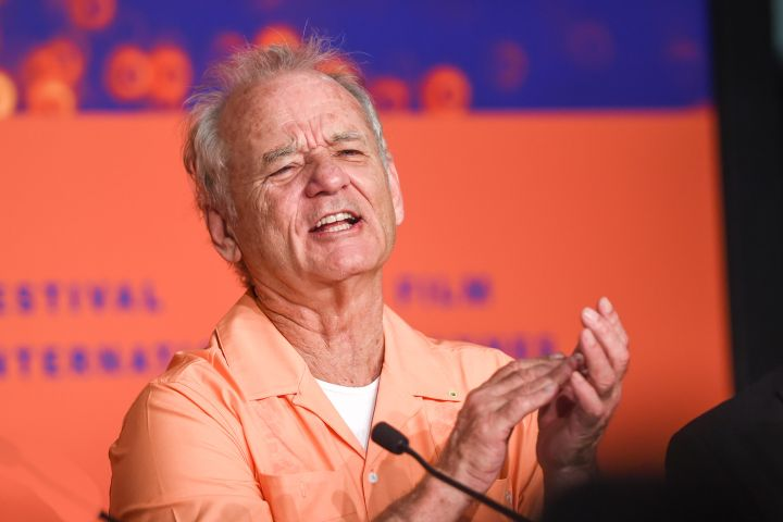 Bill Murray. Photo: Stephane Cardinale - Corbis/Corbis via Getty Images