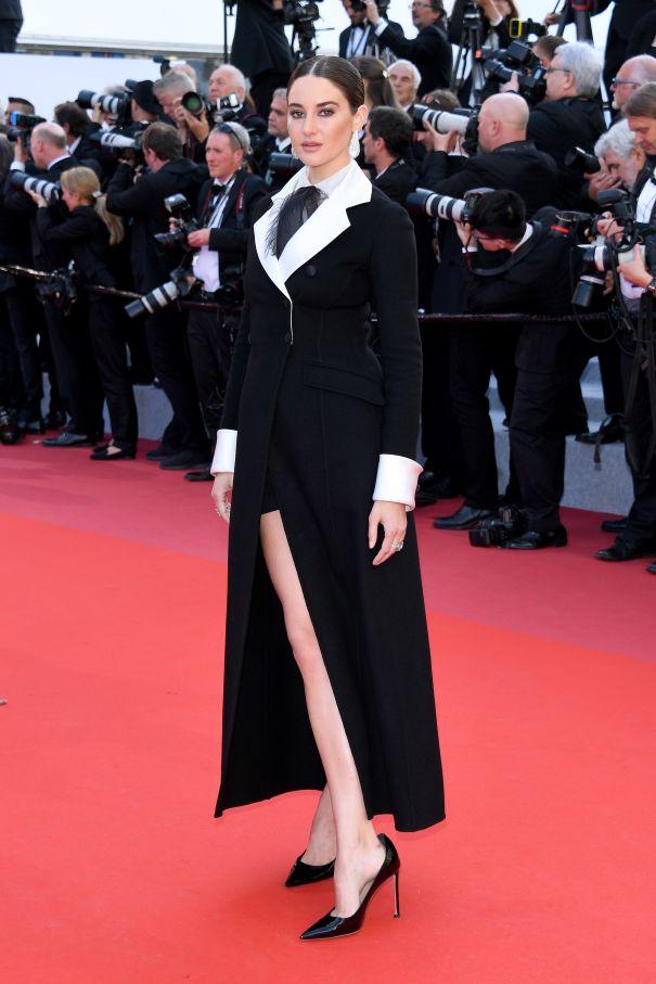 Shailene Woodley Keeps It Cool In Menswear