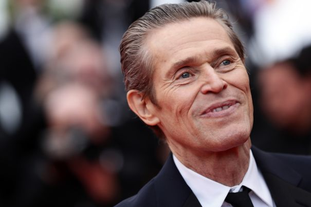 Willem Dafoe is All Smiles