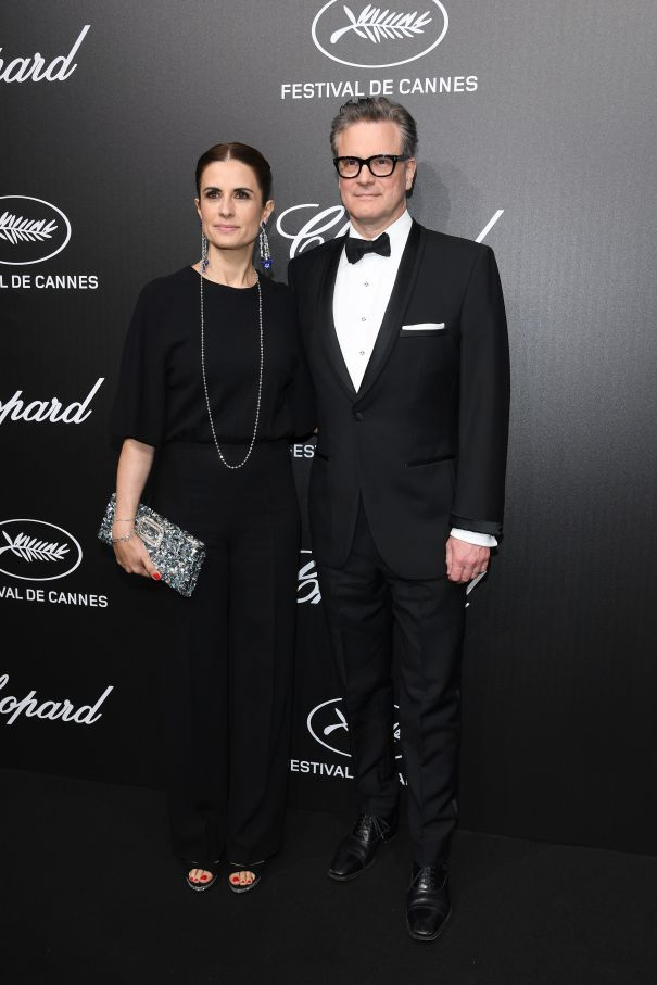 Colin Firth Attends Trophee Chopard