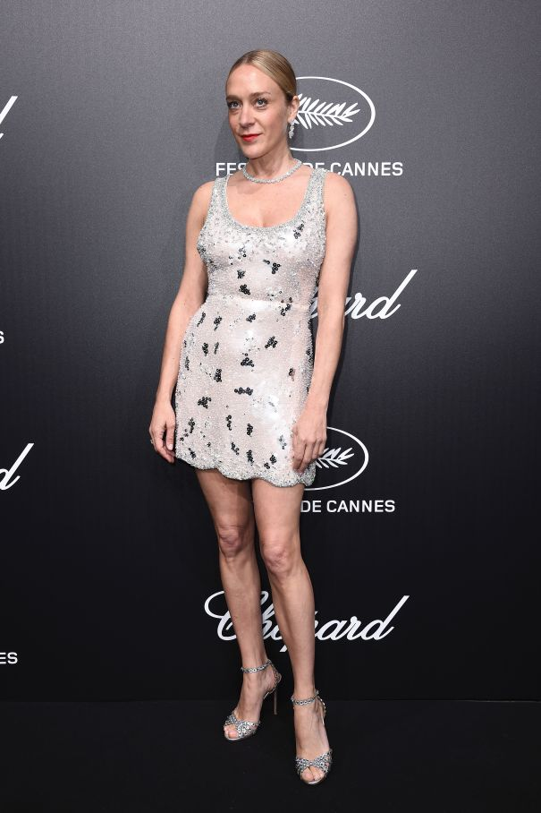 Chloe Sevigny Sparkles In Cannes