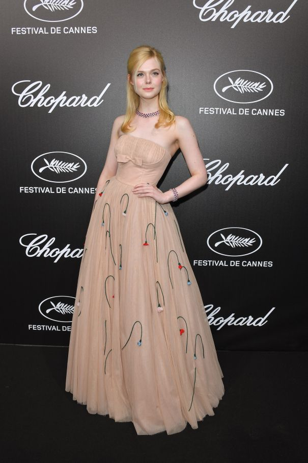 Elle Fanning Pretty In Prada