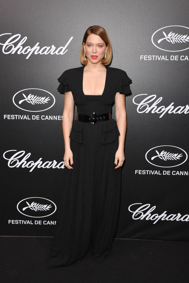 Lea Seydoux Steps Out For Cannes
