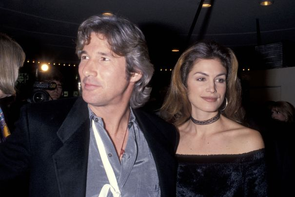 Cindy Crawford + Richard Gere