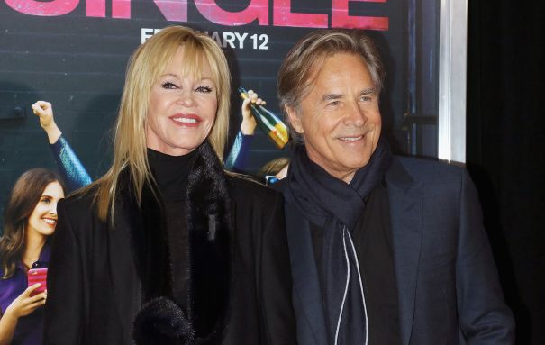 Melanie Griffith + Don Johnson