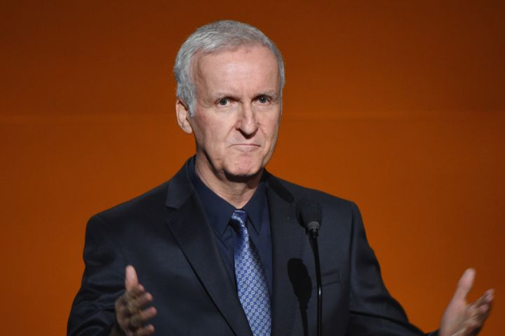 James Cameron. Photo: Michael Kovac/Getty Images for Rolex Awards for Enterprise