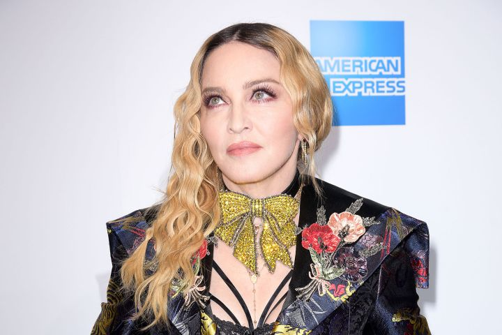 Madonna. Photo. Aurora Rose/Patrick McMullan via Getty Images