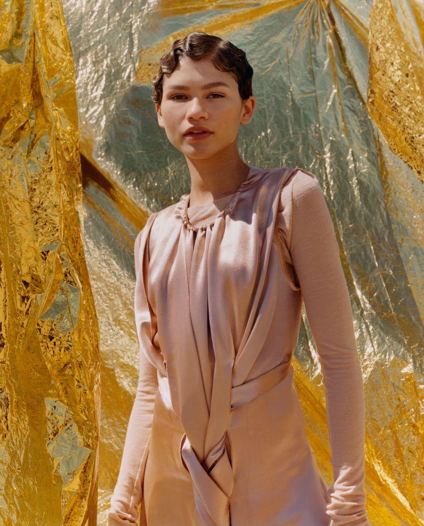Zendaya. Photo: Tyler Mitchell/Vogue