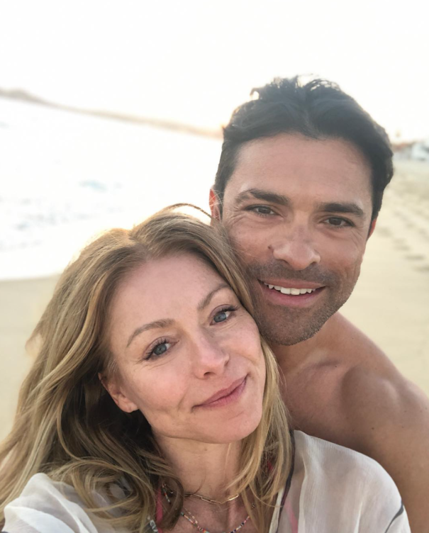 Kelly Ripa + Mark Consuelos