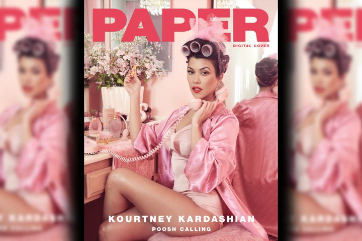 Kourtney Kardashian. Photo: Paper Mag