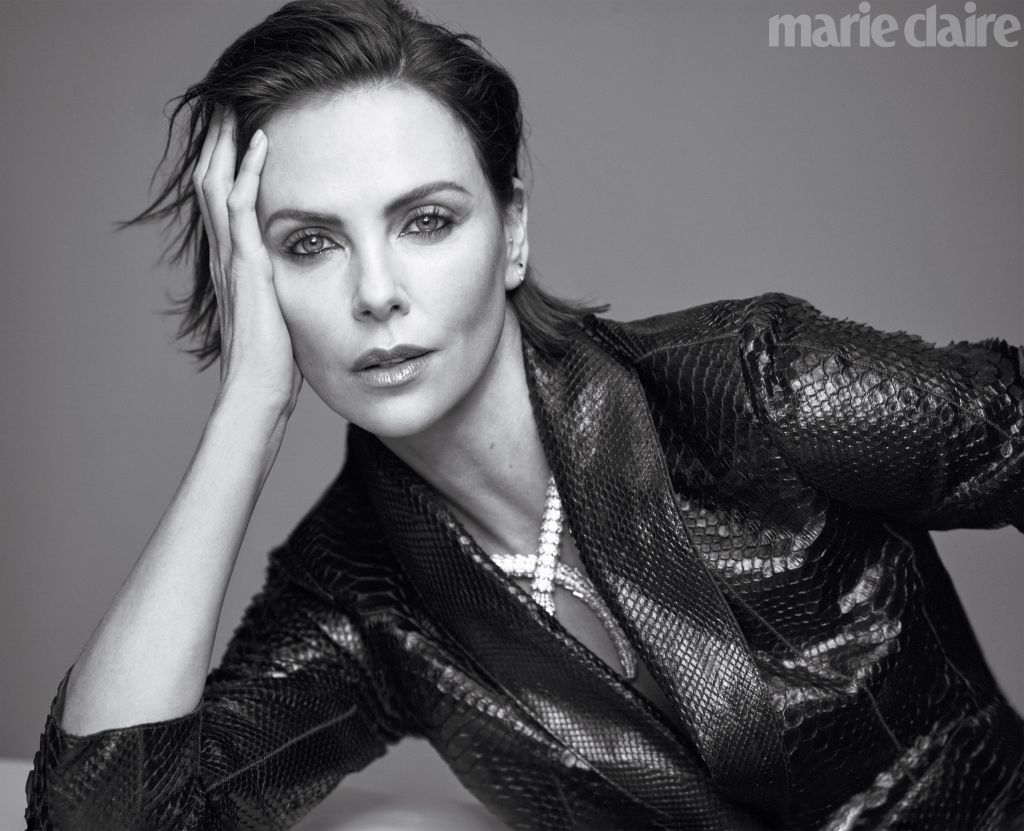 Charlize Theron. Photo: Thomas Whiteside for Marie Claire