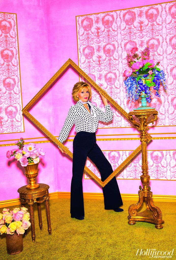 Jane Fonda. Photo: Alexandra Gavillet/THR