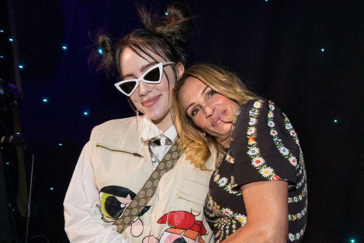 Billie Eilish and Julia Roberts. Photo: Chris Polk/Variety/REX/Shutterstock