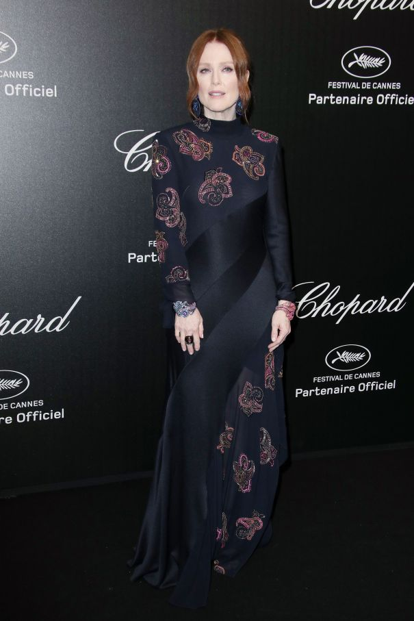 Julianne Moore Dazzles In Cannes