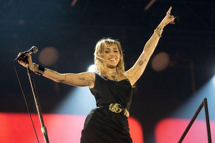 Miley Cyrus. Photo: REX/Shutterstock