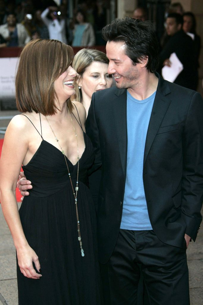 """Twenty-four years after they starred together in """"Speed"""", Reeves revealed he had a crush on co-star Sandra Bullock in an interview. The feeling was mutual: Bullock admitted to Ellen DeGeneres that she too had a crush on Reeves in 1994. It has been 13 years since they re-teamed for """"The Lake House"""" in 2006. Someone cast these two in a movie ASAP!"""