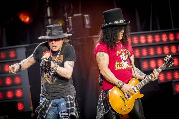 Axl Rose and Slash - Getty Images
