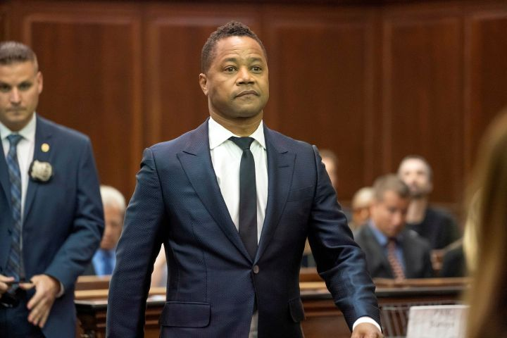 Cuba Gooding Jr. Photo:  Steven Hirsch/Pool via REUTERS