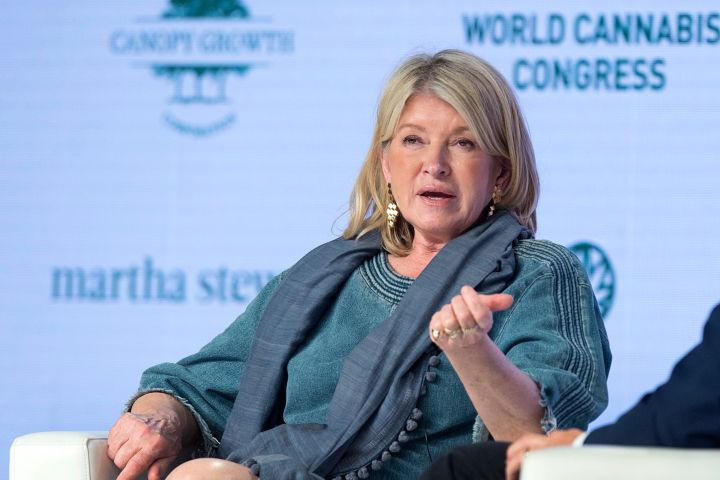 Martha Stewart - THE CANADIAN PRESS/Andrew Vaughan