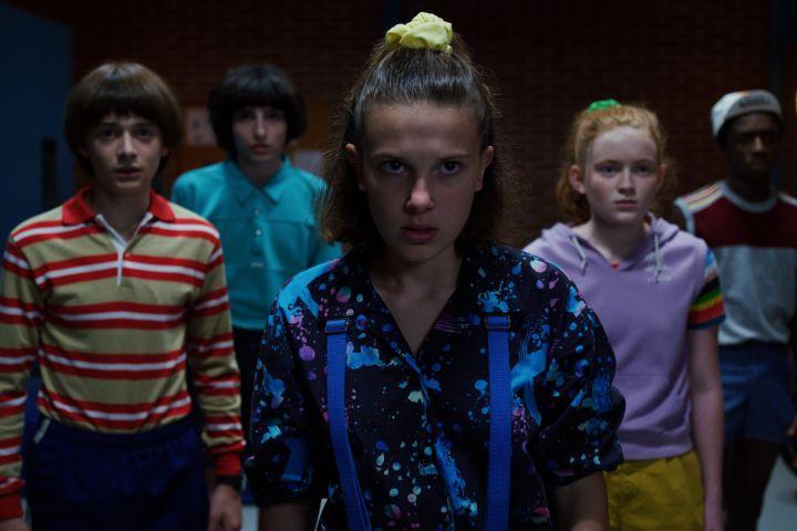 "Cast of ""Stranger Things"". Photo: Netflix"