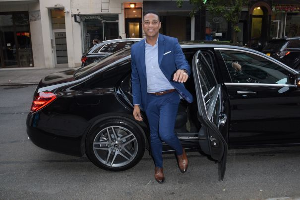 Don Lemon Arrives To 'Power Of Pride' Event