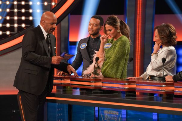 Teaming Up For 'Family Feud'