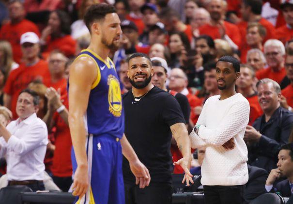 Drake At Game 5
