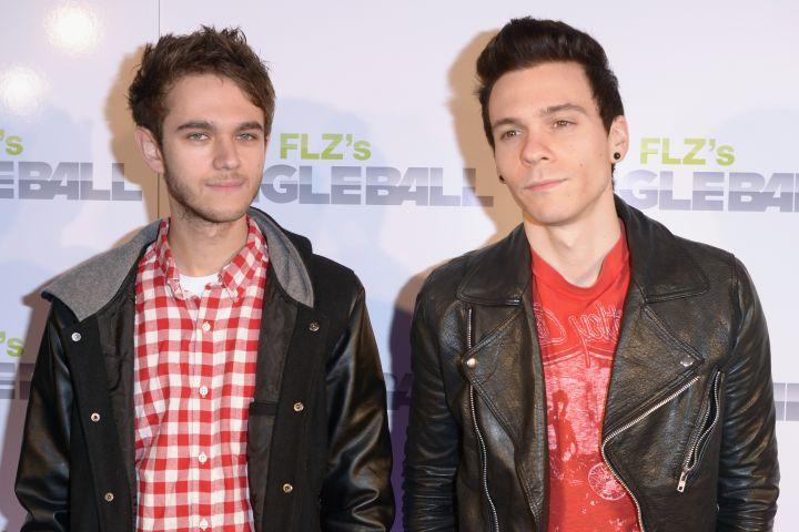 Zedd and Matthew Koma - Tim Boyles/Getty Images for Jingle Ball 2012