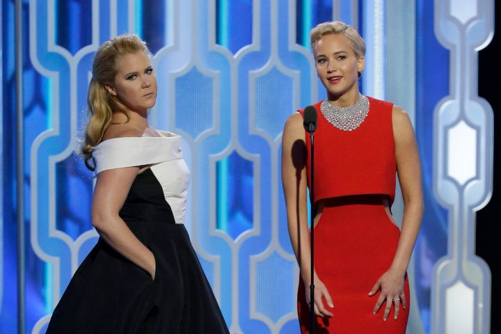 Amy Schumer and Jennifer Lawrence - Getty Images
