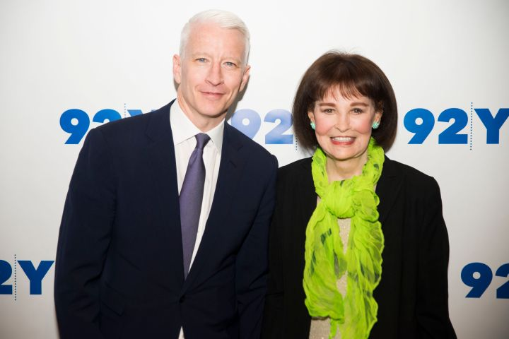 Anderson Cooper and Gloria Vanderbilt. Photo: Jenny Anderson/WireImage